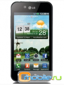 LG Optimus Black в белом!
