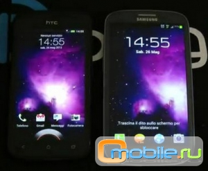 Galaxy S3 vs HTC One S- Сравнение.